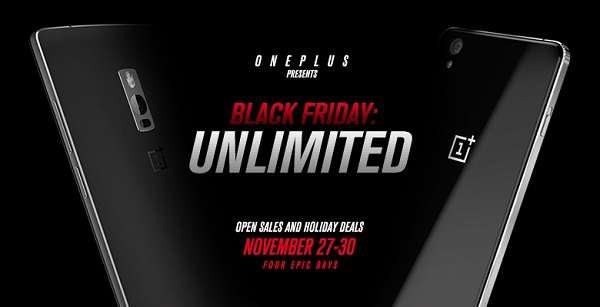 Black Friday OnePlus
