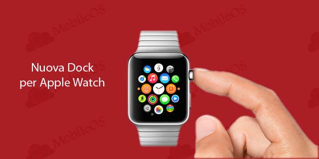 nuova dock per Apple Watch