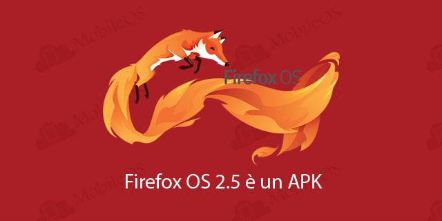 Firefox OS 2.5