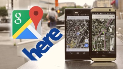 Google Maps vs Here Maps