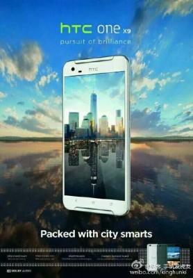 Uscita HTC One X9