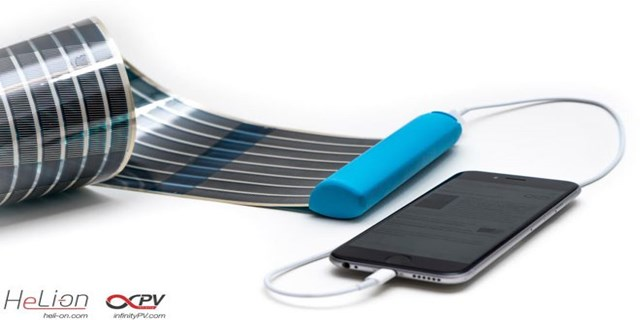 power bank fotovoltaico tascabile