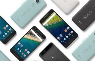 LG Nexus 5X e Huawei Nexus 6P