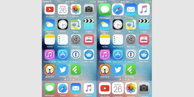 gestire app iPhone