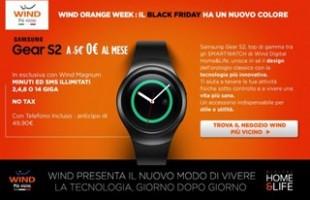 Samsung Gear S2 a 0€ con Wind Orange Week
