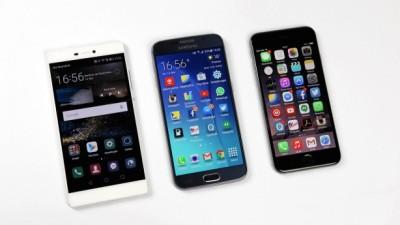 Samsung e Huawei in crescita