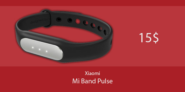Xiaomi Mi Band Pulse a 15$