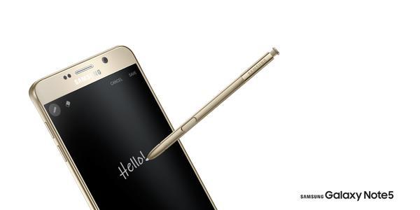 Arrivo Galaxy Note 5 Europa