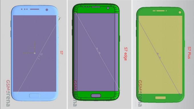 Dimensioni Samsung Galaxy S7