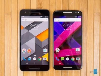 Google Nexus 6P vs Motorola Moto X Style