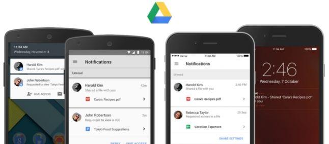 Miglioramenti Google Drive