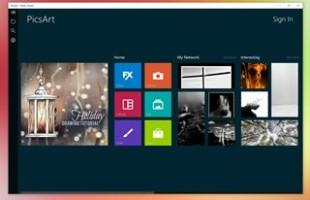 PicsArt Universal App Windows 10