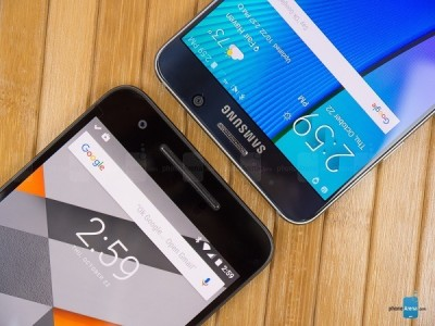Samsung Galaxy Note 5 vs Google Nexus 6P
