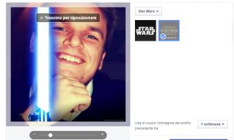 Star-Wars invade Facebook
