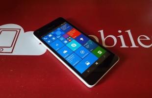 Test Batteria Lumia 550
