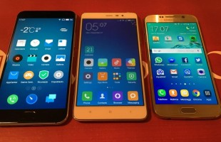 Video Confronto MEIZU Pro 5 VS Xiaomi Redmi Note 3 VS Galaxy S6
