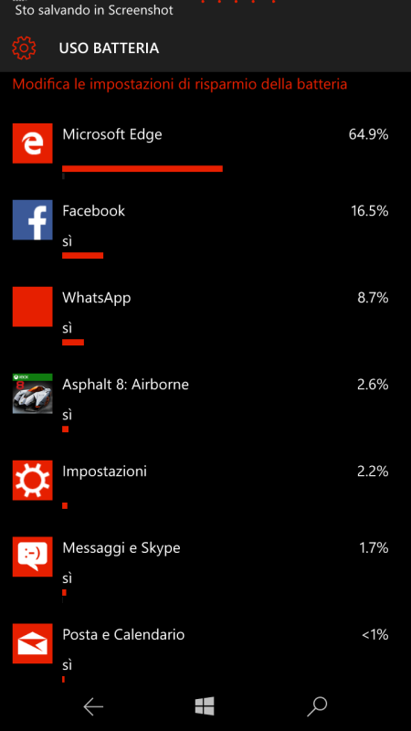 batteria lumia 550