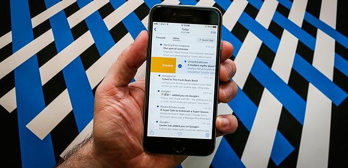 Aggiornamento Microsoft Outlook per iOS