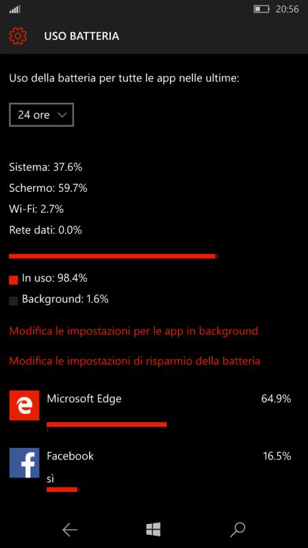 test lumia 550