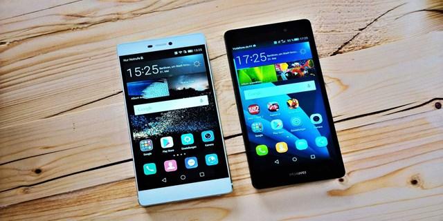 Aggiornamento Huawei P8