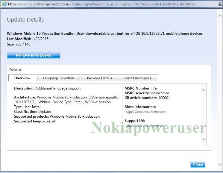 Aggiornamento Lumia