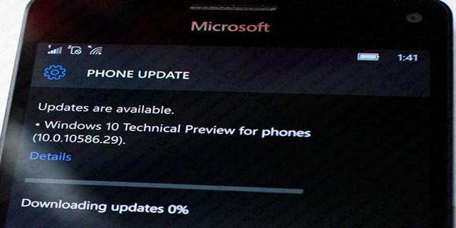 aggiornare Lumia 950