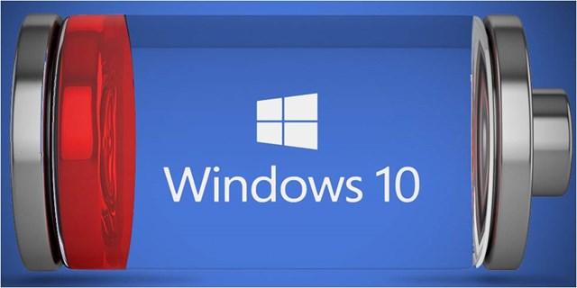 risparmiare batteria Windows 10