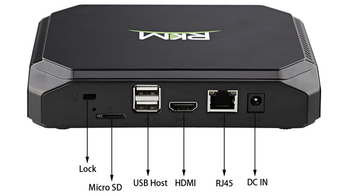 TV Box Android rikomagic