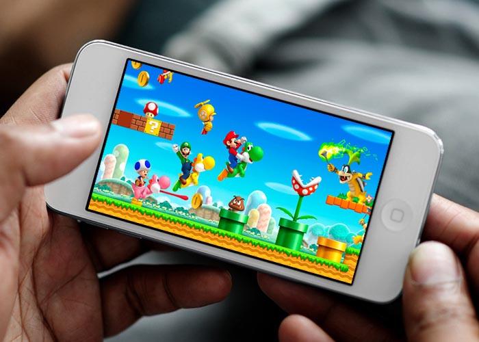 Personaggi Nintendo su smartphone