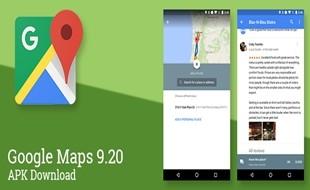 Aggiornamento Google Maps 9.2