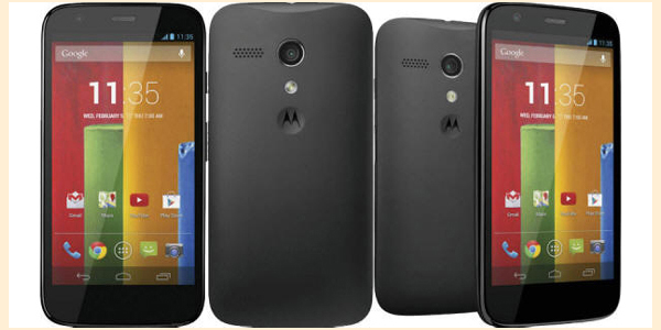 Android 6 Moto G 2014