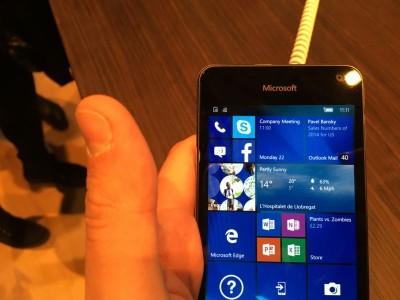 Microsoft Lumia 650 MWC 2016 IMG_2068
