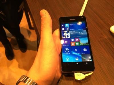 Microsoft Lumia 650 MWC 2016 IMG_2069