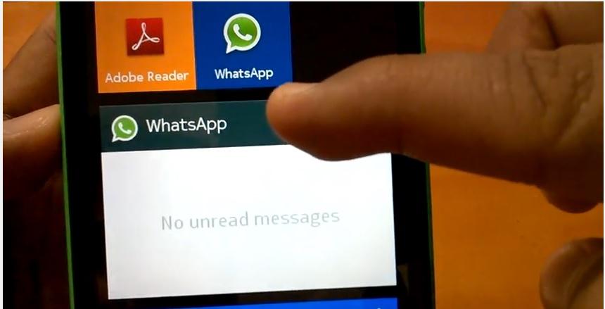 Nokia-X-Whatsapp
