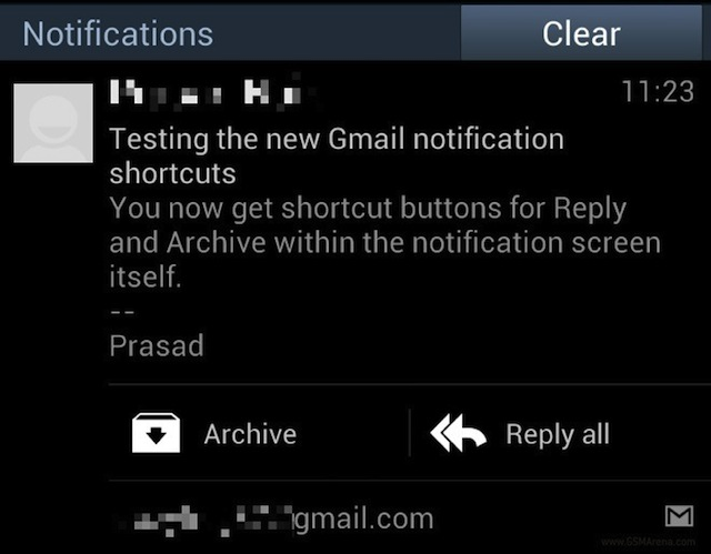 Sistemare Notifiche Gmail Android