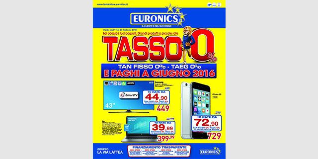 Volantino Euronics febbraio 2016