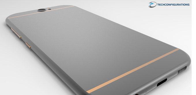 Render HTC One M10