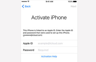 attivare iPhone iOS 9.3