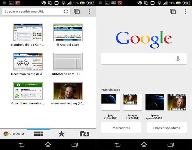 Consultare Chrome Offline per Android