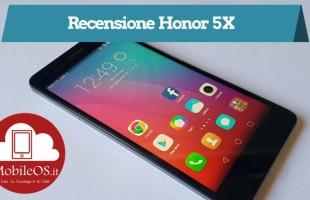 Recensione Honor 5X
