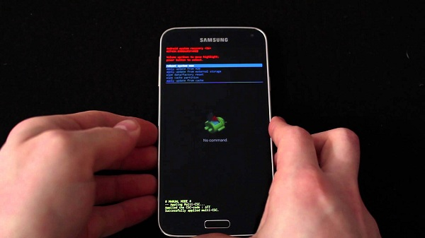Ripristinare Samsung Galaxy S5