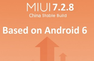 miui 7.2.8 Android 6