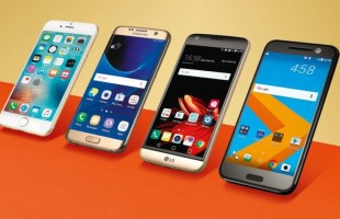 Galaxy S7 (Edge) VS HTC 10 VS LG G5 VS iPhone 6s