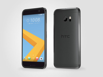 HTC 10 - HTC 10_PerLeft_CarbonGray16Mar21