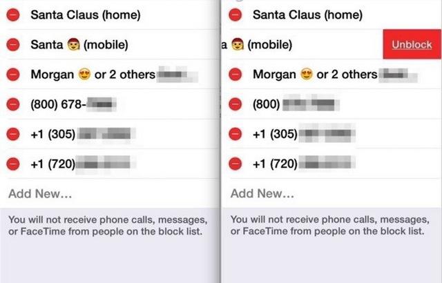 Sbloccare Contatti iPhone