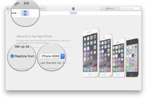 Trasferire Dati da iPhone