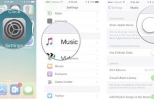 Nascondere Apple Music iPhone