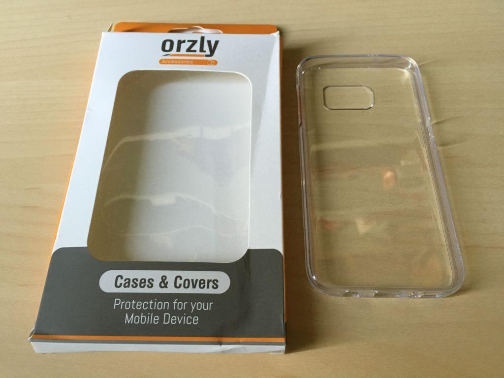 Prova Orzy FlexiCase Custodia Trasparente per Samsung Galaxy S7 IMG_2308