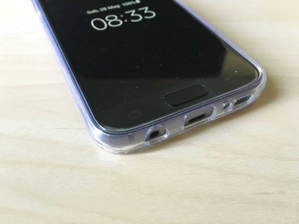 Prova Orzy FlexiCase Custodia Trasparente per Samsung Galaxy S7 IMG_2316
