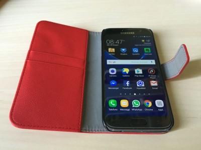 Prova Orzy Wallet Case Custodia a Libro per Samsung Galaxy S7 IMG_2339